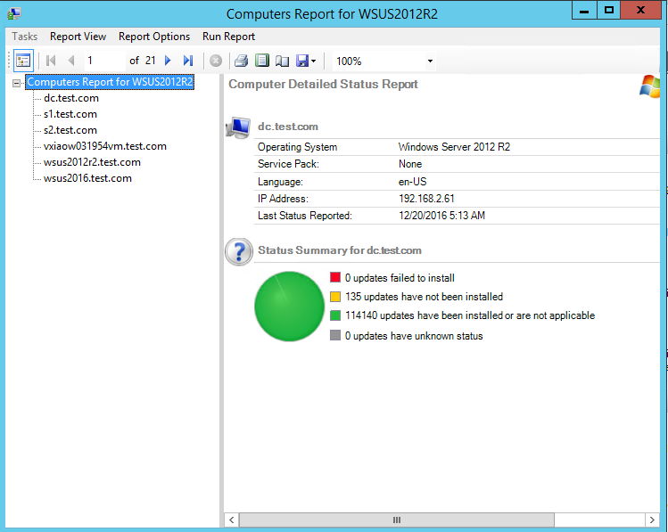 Manually download windows updates from wsus update
