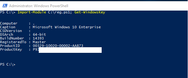 How to find server 2012 Product or CD-Key