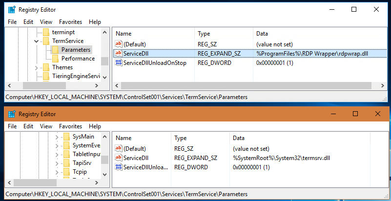 Need authorized response from Microsoft- using rdp wrapper with