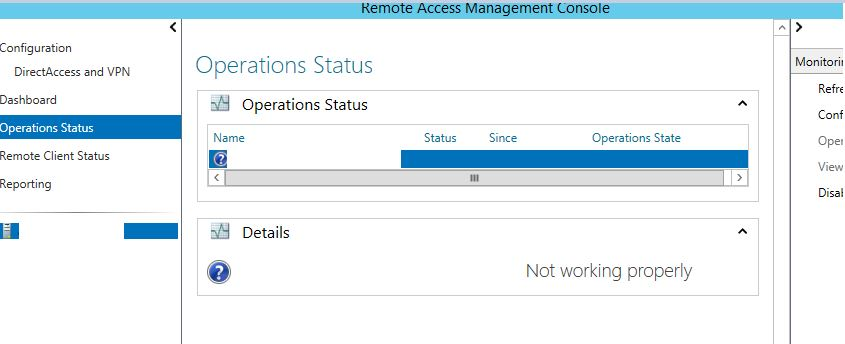 Remote Access Management Console