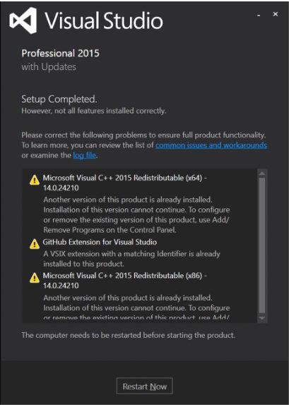 Visual Studio Repair