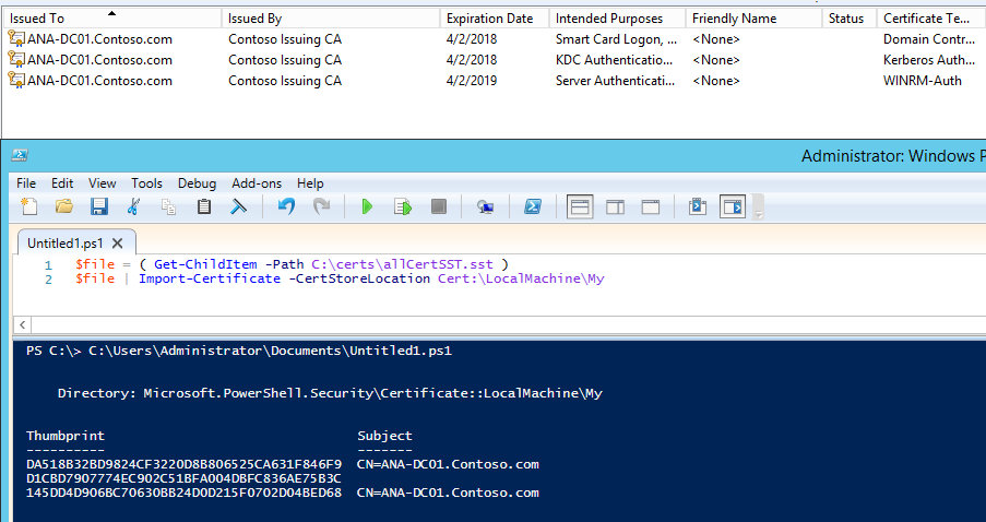 Export & Import SST (Microsoft serialized certificate store)