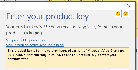 microsoft product key not working