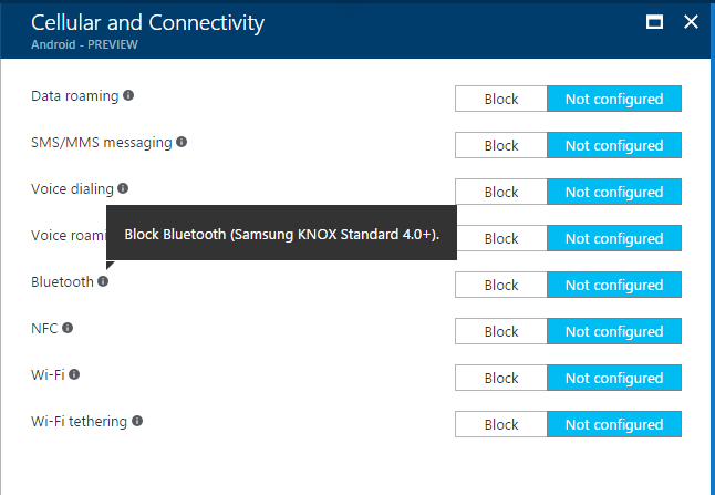 Block Bluetooth Tethering / sharing internet through Bluetooth