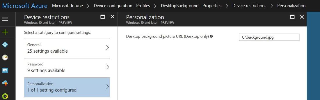 Deploying Desktop Wallpaper With Intunes