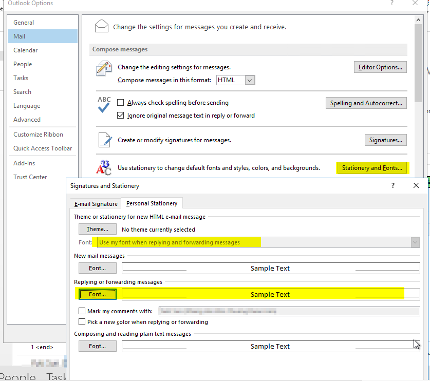 6afb59623f7e4c Outlook 2013 reply color setting