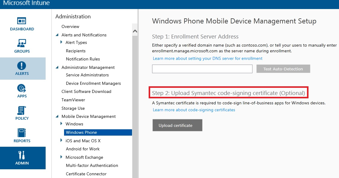 Uploading A Signed App To Intune