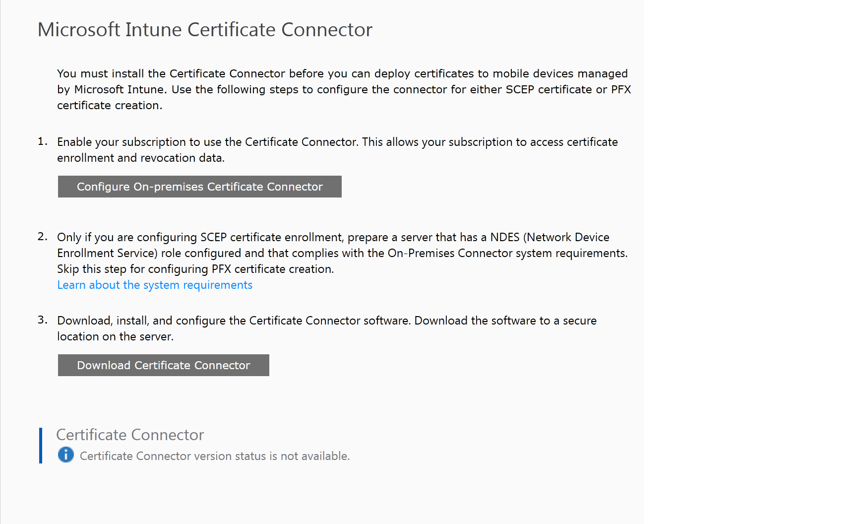 Certificate authority ndes connector status inactive when checking the certificate compliance reports report also verifies the results i see from devices that i have successfully deployed certificates xflitez Image collections