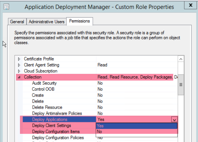 Query On Rbac Configuration For Application Deployment
