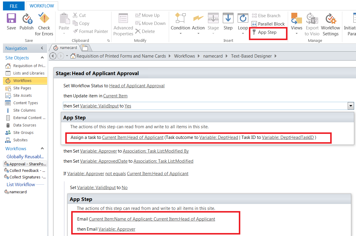 sharepoint workflow suspended with the following error