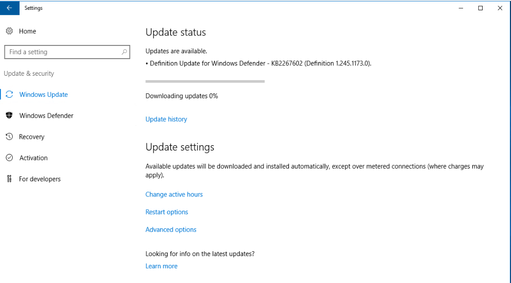 Windows Update Fixit >> New Installed Windows Server 2016 Dc Windows Update Freezing