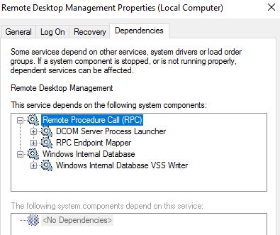 Windows Server 2012 R2 cannot start rdms (remote desktop