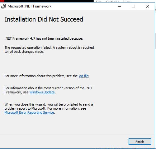 Error Log: Server Manager Crashes In Server 2016 Standard