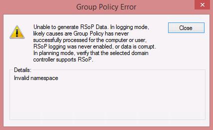 rsop data