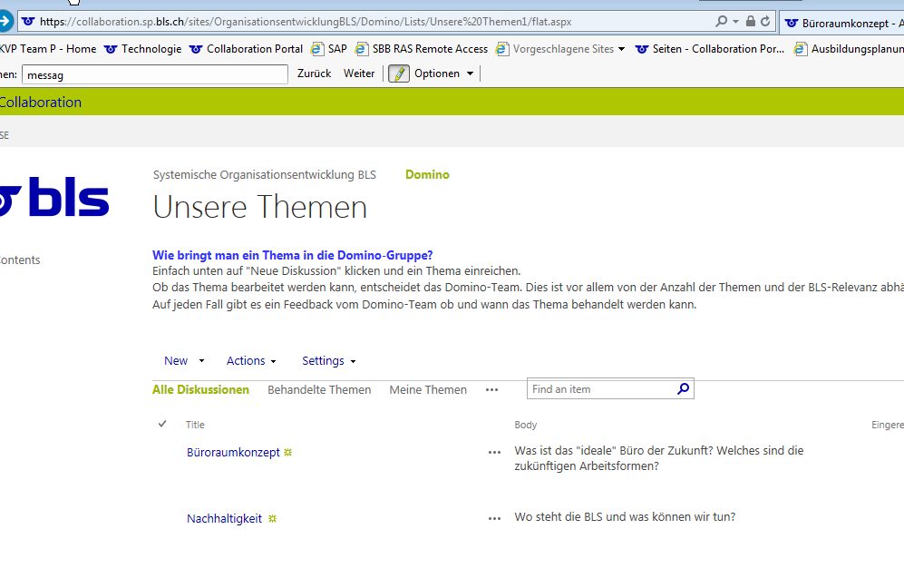 SharePoint 2013 - Discussion Board custom view: Answers are