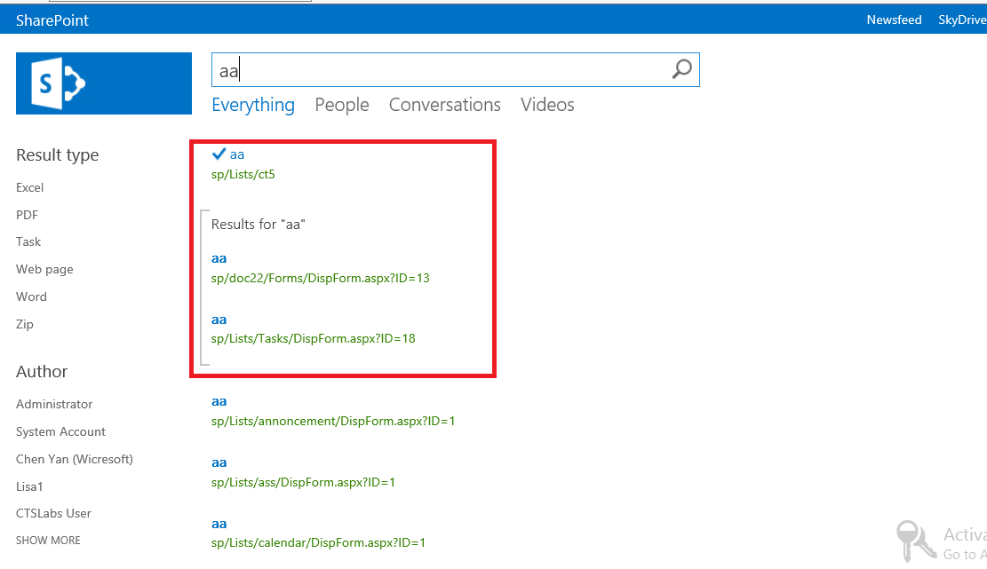 how to add promoted result external website sharepoint search