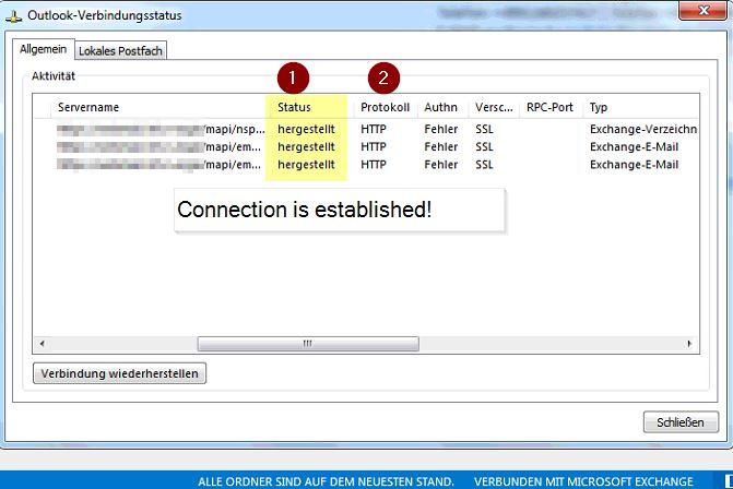 Exchange Server 2016 CU5 - MAPI/HTTP Outlook Authn Error
