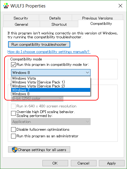 Games don't work on Windows 10