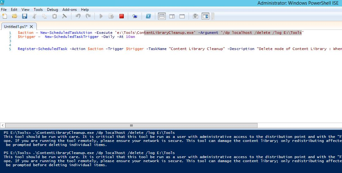 ContentLibraryCleanup exe toolkit not running WMI providers for the