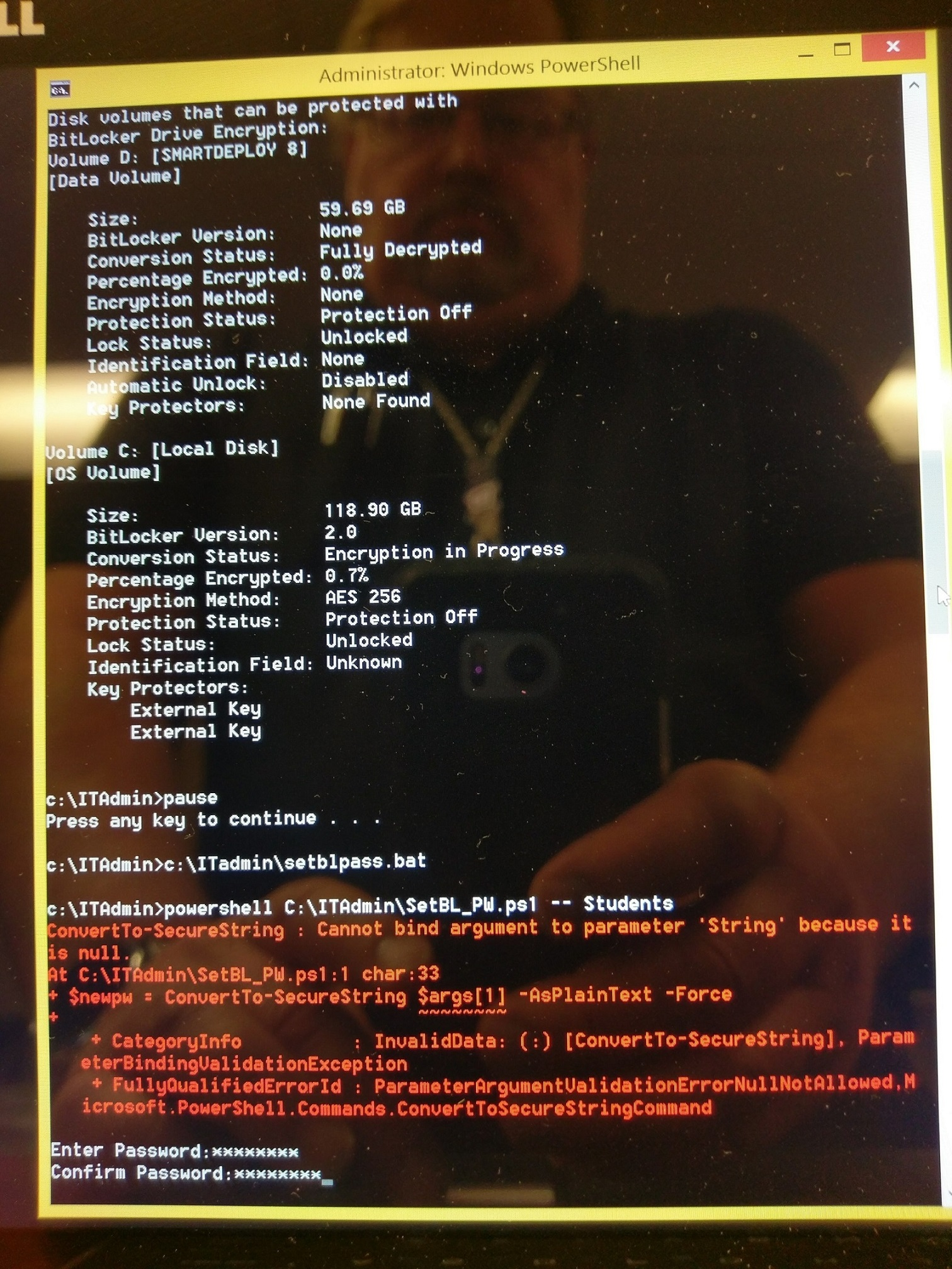 Manage tpm command line - If You Really Want To See The Result Like I Mentioned Earlier The Does Not Show Up When The Code Is Executed Even Though It Is In The Command Line