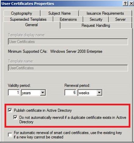 Windows certificate template renewal period image collections certificate template renewal period choice image certificate certificate template renewal period is longer than the certificate yadclub Gallery