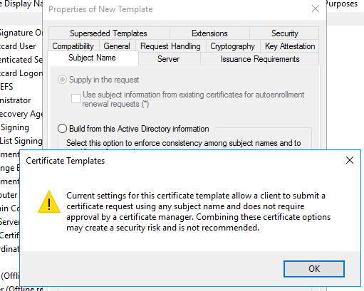Add organization o attribute to user certificate template click apply and ok to exit the properties of new template wizard 5 remember the duplicated template name and then launch ca console to yadclub Choice Image
