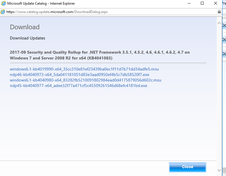 download microsoft net framework 4.6 1