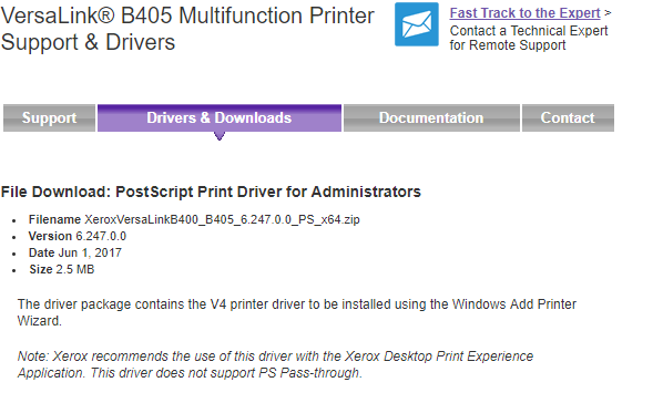Redirected Printers Server 2016 no client settings