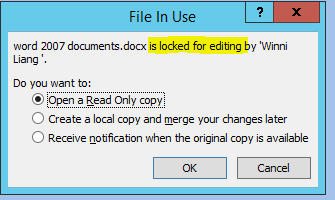 how to change a document from read only in word 2007