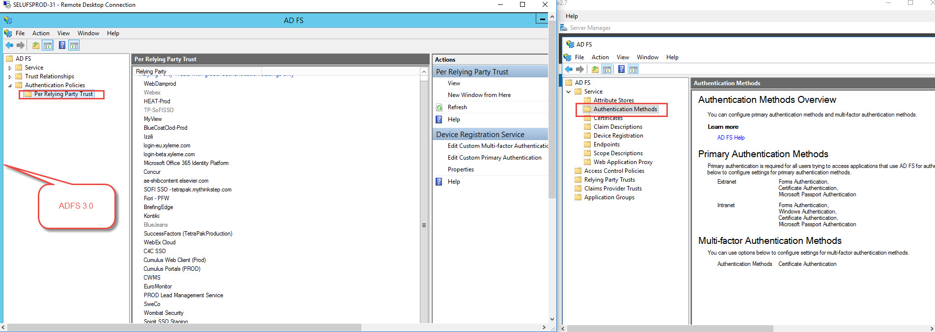 Certficate authentication as primary method in adfs 2016 xflitez Gallery