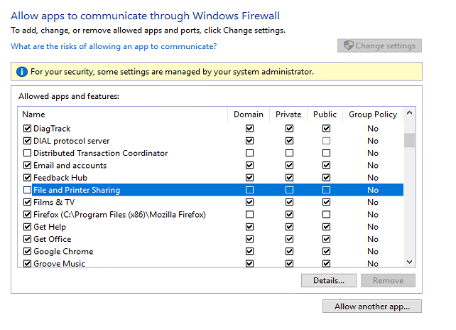 Turn off windows firewall through group policy | Disable or