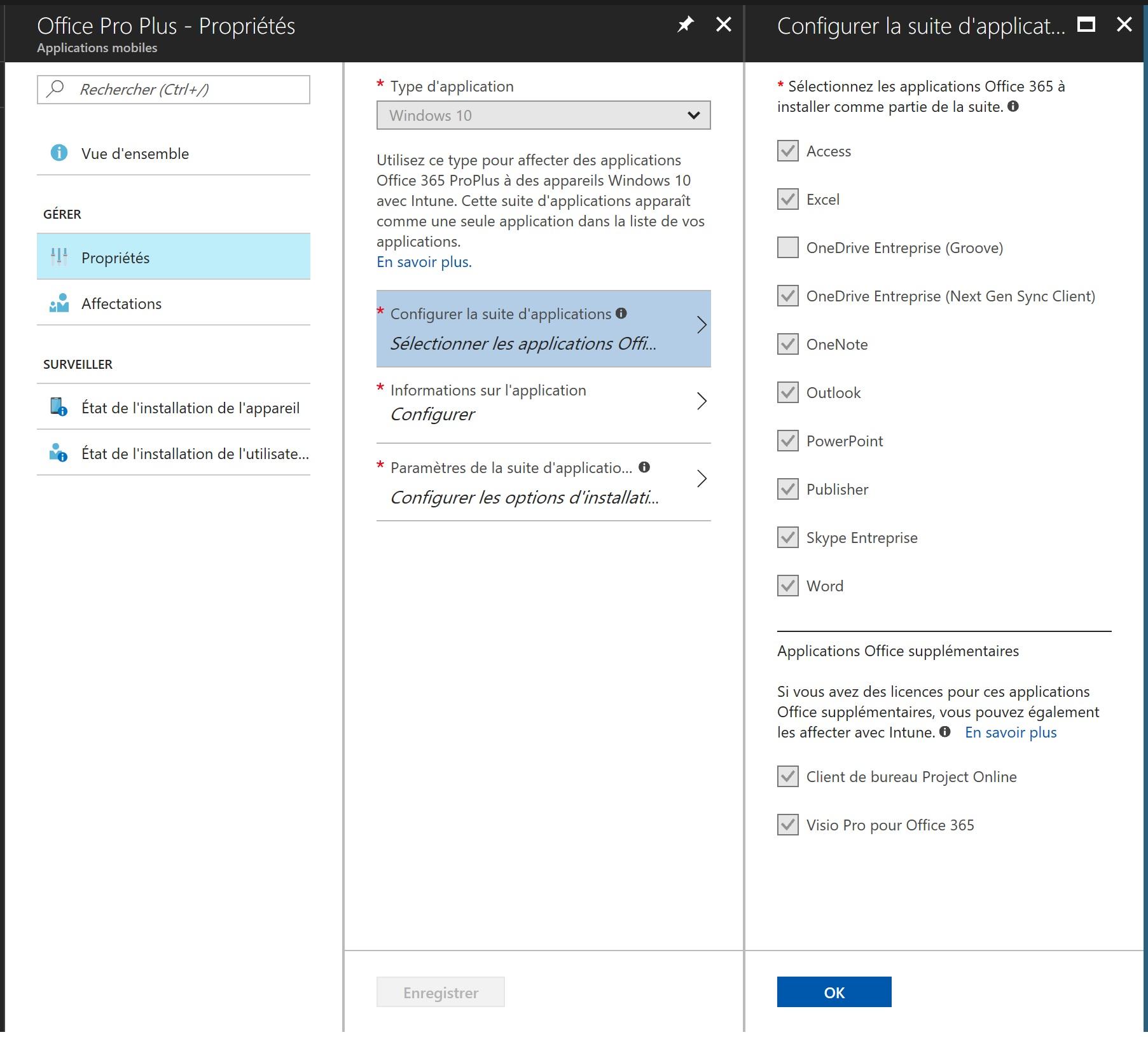 Office Pro Plus install via Intune fails (0x10)