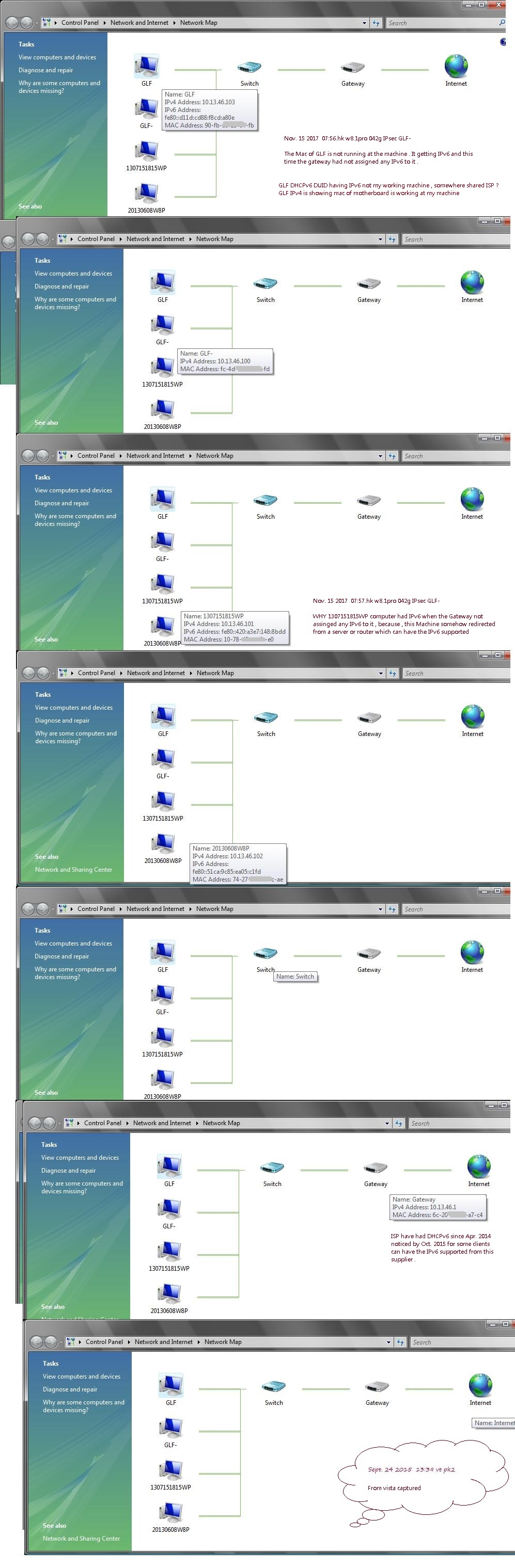 GLF,x 1 working mac having IPv6 , GLF- , 1307151815WP, 20130608W8P
