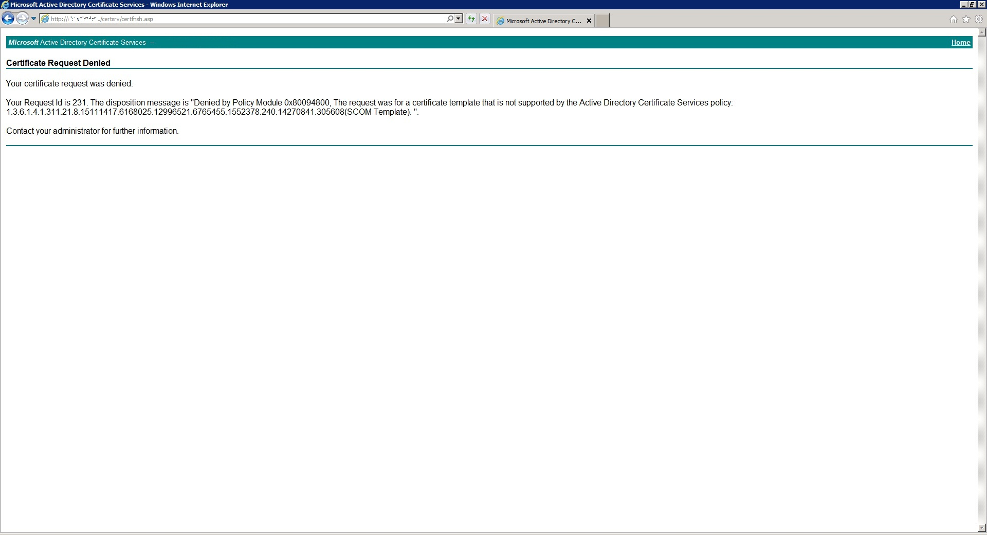 Problem in requesting certificate from enterprise ca sunny yelopaper Gallery