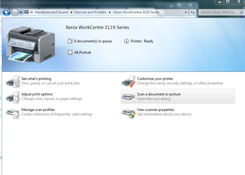 Драйвер сканера xerox workcentre 3119 для windows 7 | uctulkali.