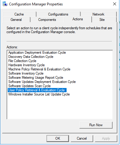 Filter option in Software center