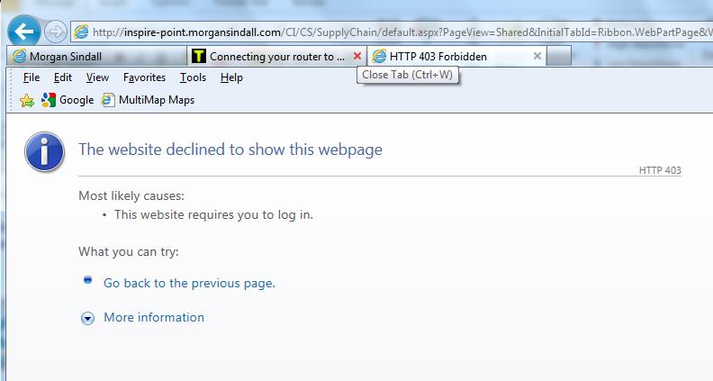 User Error Editing Sharepoint ...