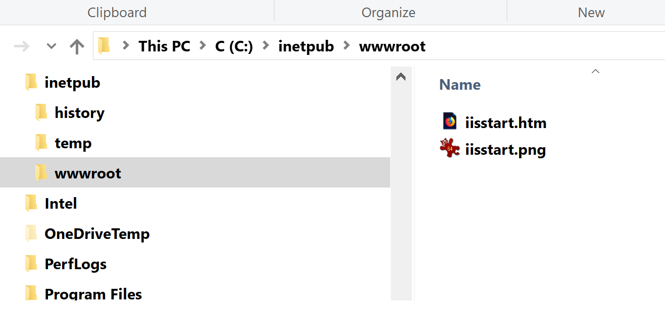 IIS not working properly - Unable to create a website