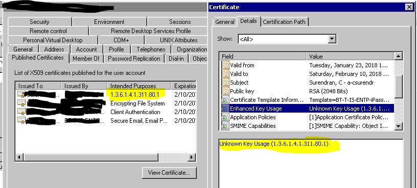 Document encryption certificates yelopaper Image collections