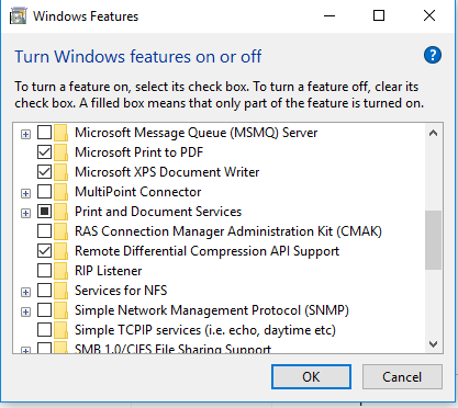 GPMC/ RSAT missing from Windows 10