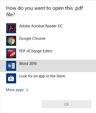 Set pdf to open with Acrobat Reader via Group Policy