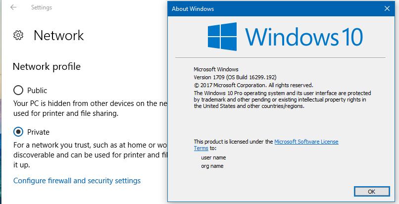 change network to public windows 10