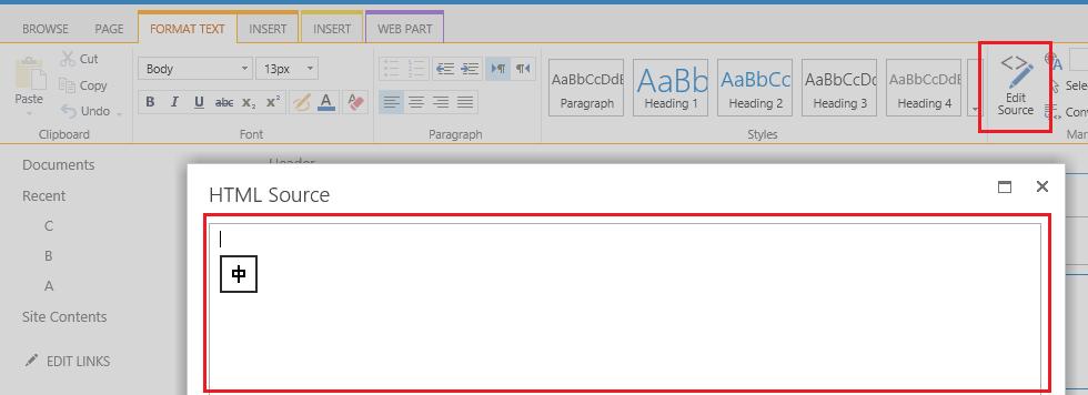 Edit Webpart HTML? i e  Edit Promoted Links html