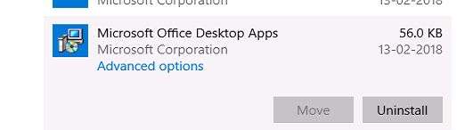 How to disable Microsoft office store apps completely