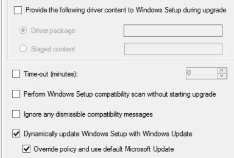 Windows 7 to 10 in-place upgrade fails: Incompatible