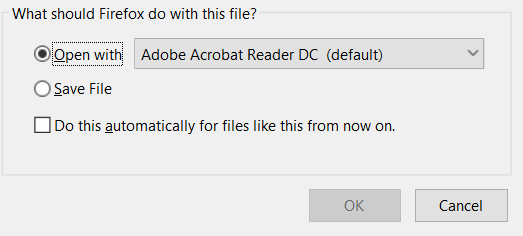 Open pdf file in adobe reader in Sharepoint Online