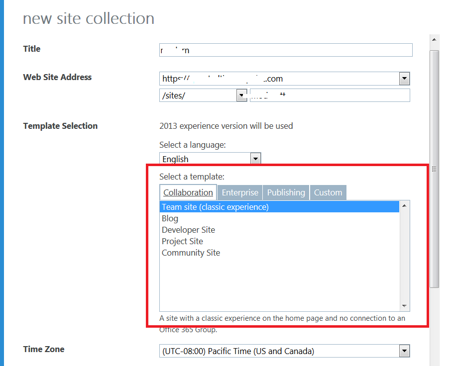 From where i can create Modern Team sites inside my SharePoint Online