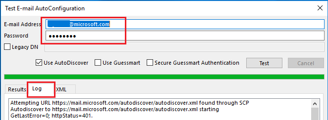 Office365 DNS autodiscover