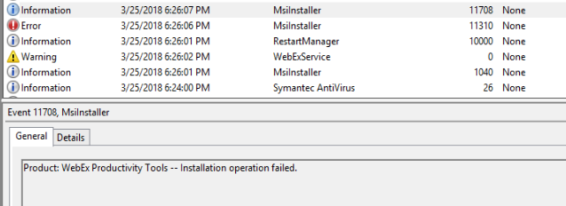 Software Center asks to retry with status Pastdue- Will be