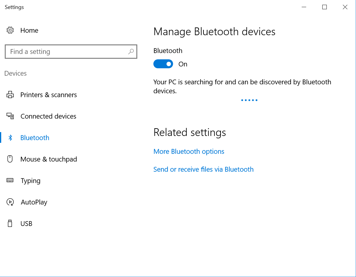 bcm20702a0 driver is unavailable windows 10